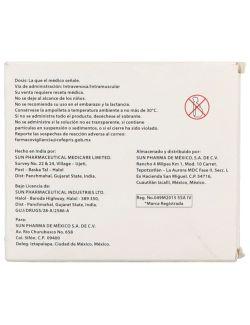 Zunun Solución Inyectable 1000 mg Caja Con 5 Ampolletas 4 mL