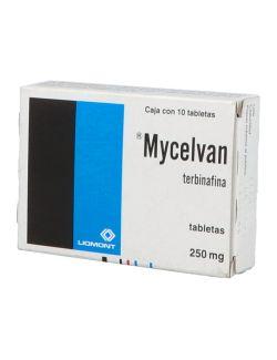 Mycelvan 250 mg Con Caja Con 10 Tabletas
