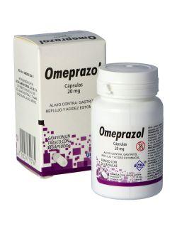 Omeprazol 20 mg Caja Con Frasco Con 30 Cápsulas