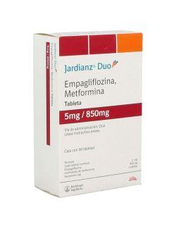 Jardianz Duo 5 / 850 mg Caja Con 30 Tabletas