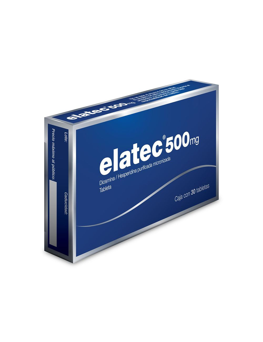 Elatec 500 mg Caja Con 30 Tabletas