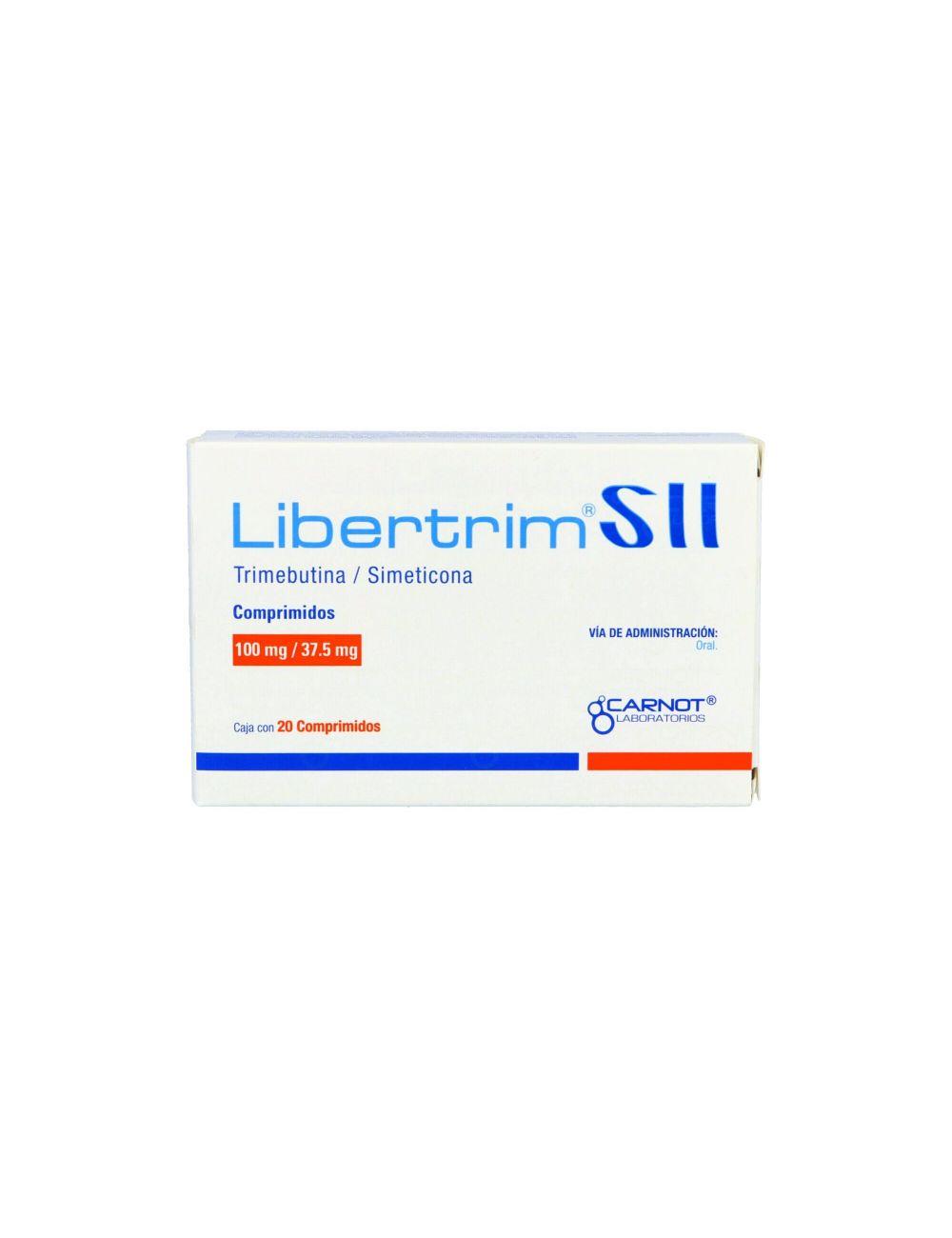 Libertrim SII 100 mg / 37.5 mg Caja Con 20 Comprimidos