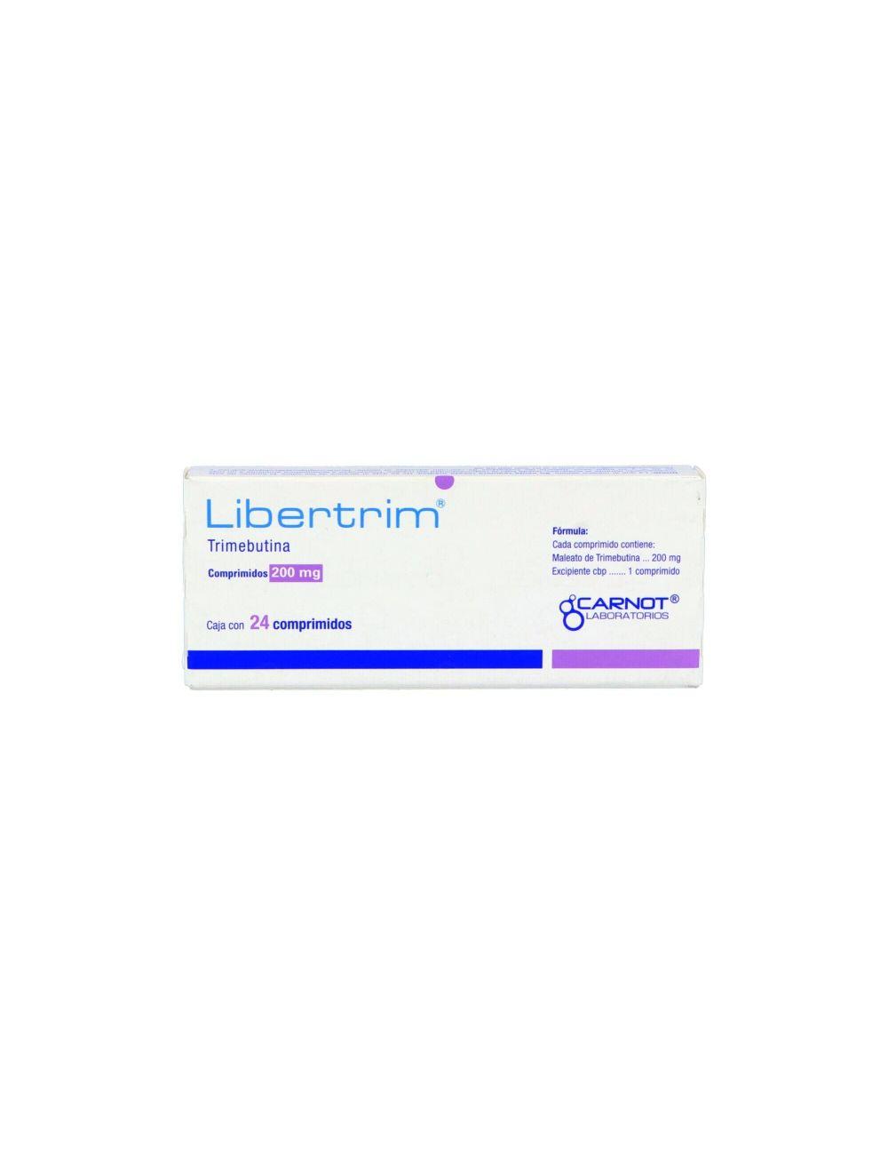 Libertrim 200 mg Caja Con 24 Comprimidos