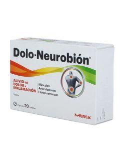 Dolo Nuerobión 50 mg Caja Con 20 Tabletas