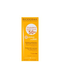Photoderm Nude Touch FPS50+ Protector Solar Muy Claro 40 mL