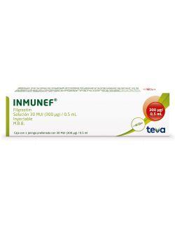 Inmunef 30 MUI Solución Inyectable Con Jeringa Prellenada - RX3