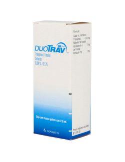 Duotrav 0.04 % / 5.0 % Caja Con Frasco Gotero Con 2.5 mL