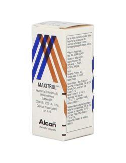 Maxitrol 3.5mg/6000UI/1mg/mL Frasco gotero De 5 mL - RX