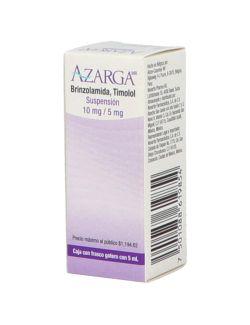 Azarga Suspensión 10 mg/5 mg/mL Caja Con Frasco Gotero Con 5mL