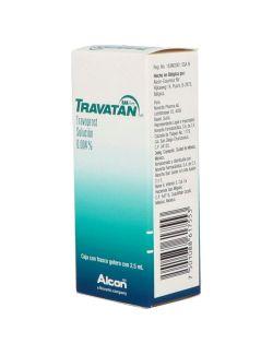 Travatan Solución 0.004% Caja Con Frasco Gotero Con 2.5mL