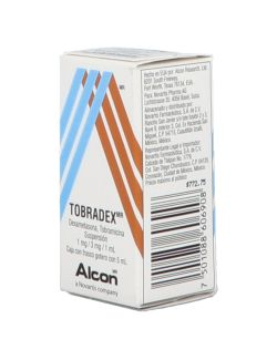 Tobradex Suspensión 0.1%/0.3% Caja Con Frasco Gotero Con 5 mL - RX