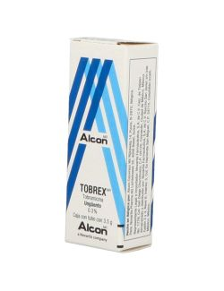 Tobrex 0.3 % Ungüento Oftálmico Caja Con Tubo Con 3.5 g