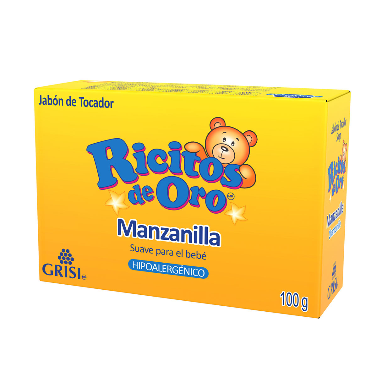 Jabón Ricitos de Oro   Presentación 100 g