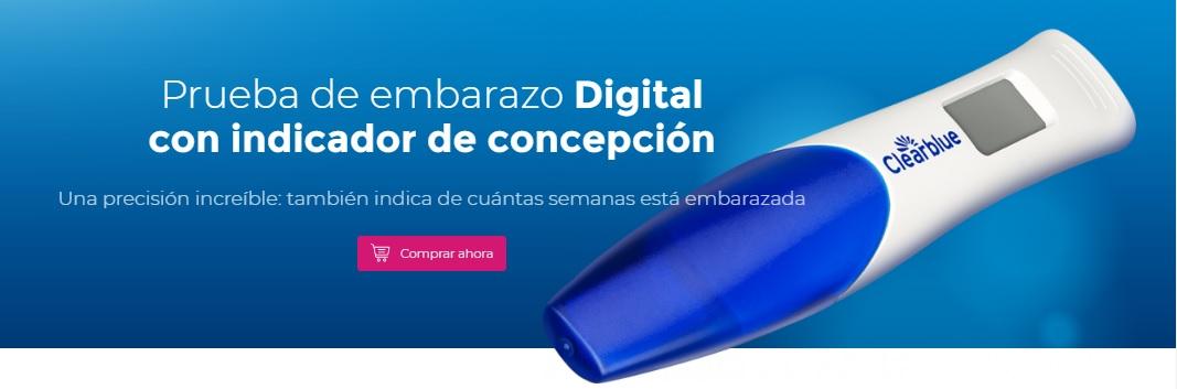 Prueba de Embaraza Digital - Banner