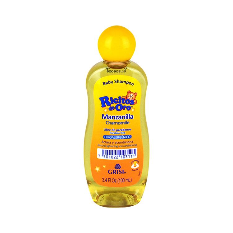 Shampoo Ricitos de Oro  Presentación: 100 mL